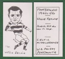 Glasgow Celtic Willie Fernie Scotland 294